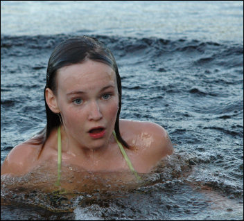 Årets första bad
