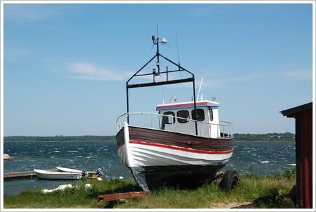 Båt i Burgsvik