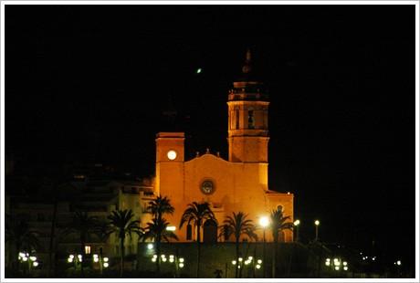Kyrkan nattetid